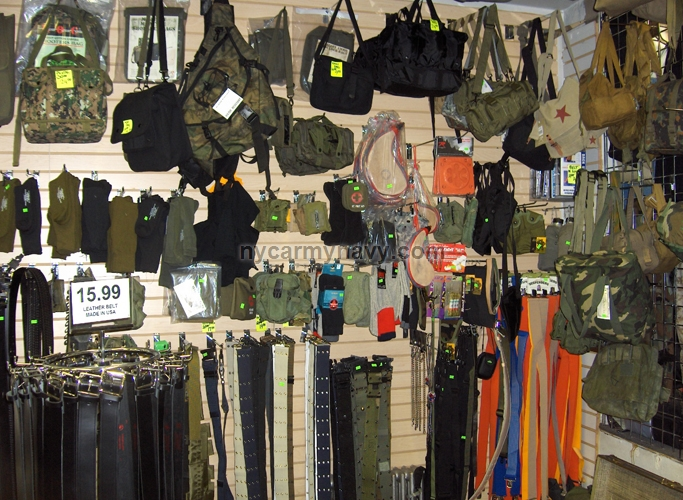 Army cloth store